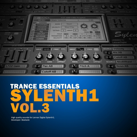 Magic Trance Music Beatsole Trance Essentials Vol 3 For SYLENTH1