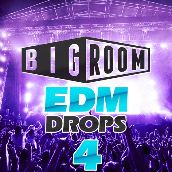 Mainroom Warehouse Bigroom EDM Drops 4 WAV MiDi