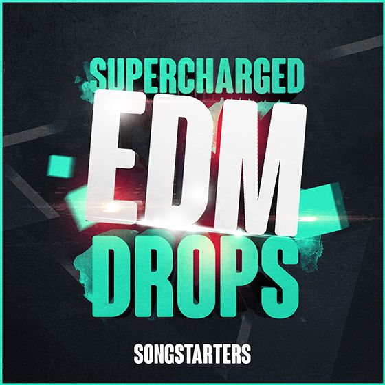 Mainroom Warehouse Supercharged EDM Drops Songstarters WAV MiDi