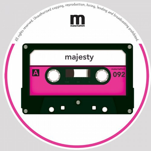 Majesty – MOMENT EP [MATERIALISM092]