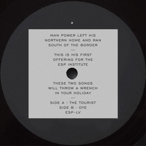 Man Power – The Tourist b/w Oye [ESP055]