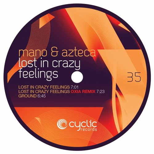 Mano Andrei, Azteca - Lost In Crazy Feelings [CYC35]