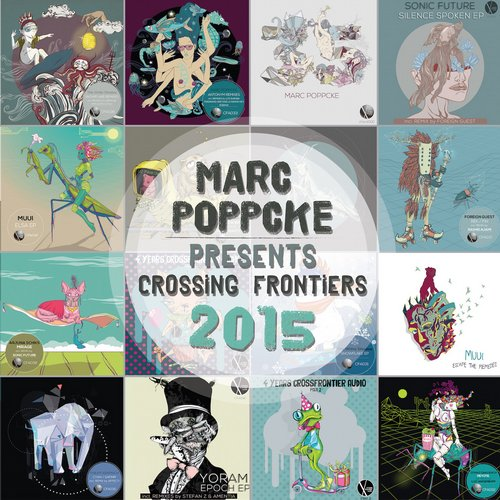 VA - Marc Poppcke presents Crossing Frontiers 2015 [CFASPEC002]