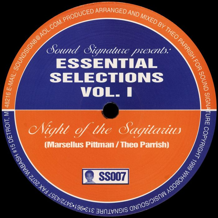 Marcellus Pittman & Theo Parrish - Essential Selections Vol. 1 [SS007]