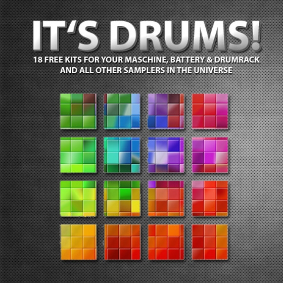 Marco Scherer It's Drums Ableton Live 8 Maschine and Battery Kits