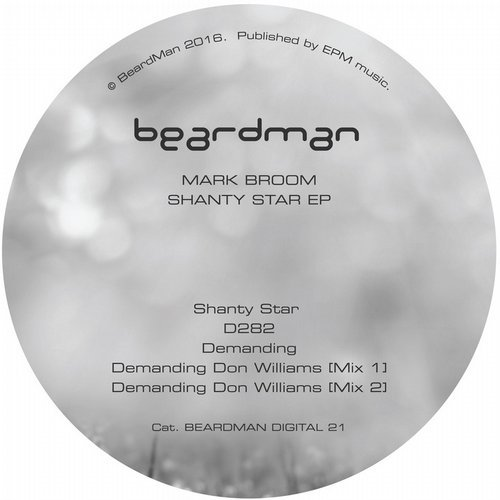 Mark Broom – Shanty Star EP [BMD021]