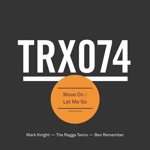 Mark Knight, Ben Remember - Move On / Let Me Go [TRX07401Z]