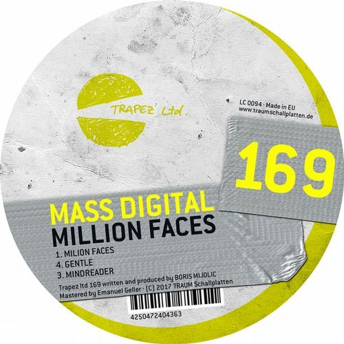 Mass Digital - Million Faces [TRAPEZLTD169]