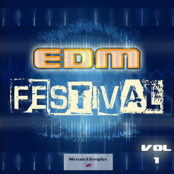 Maverick Samples EDM Festival Vol.1 WAV MiDi