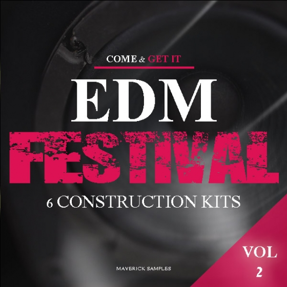 Maverick Samples EDM Festival Vol.2 WAV MiDi