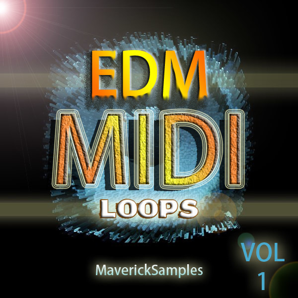 Maverick Samples EDM Midi Loops vol 1