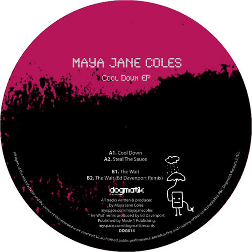 Maya Jane Coles – Cool Down EP [DOG014]