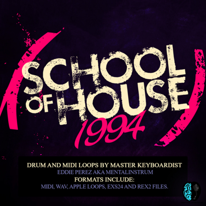 Mentalinstrum school of house 1994 wav aiff rex midi for Deep house 1994