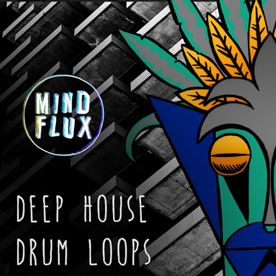 Mind Flux Deep House Drum Loops WAV