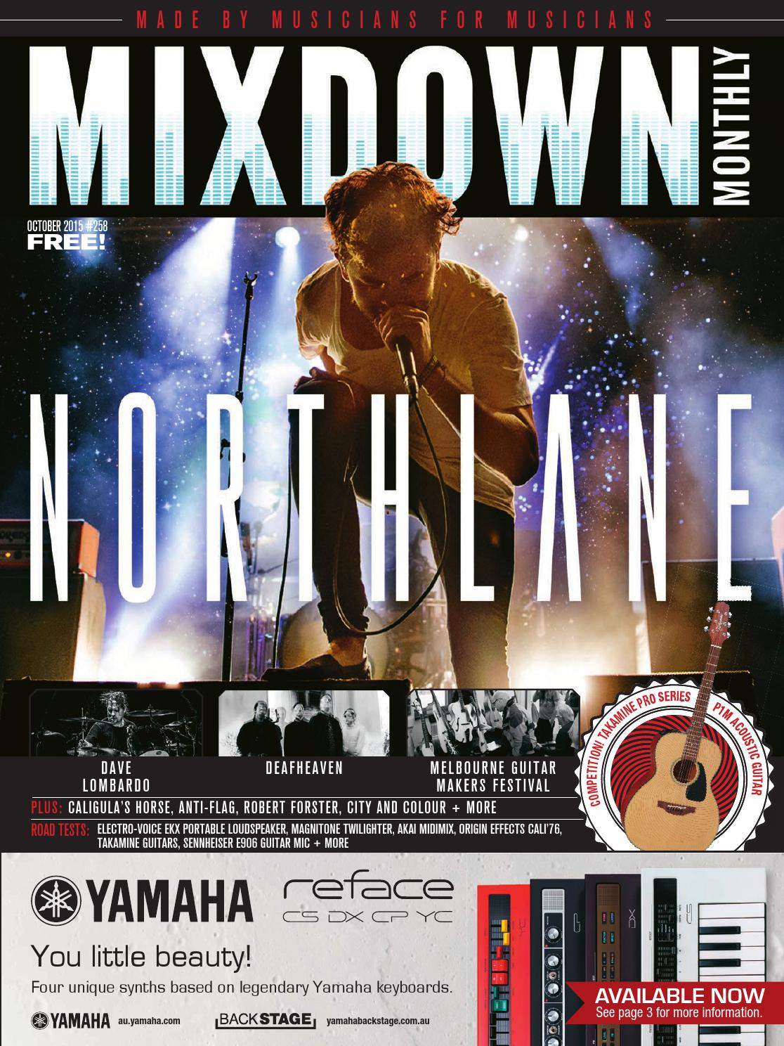 Mixdown Magazine October 2015