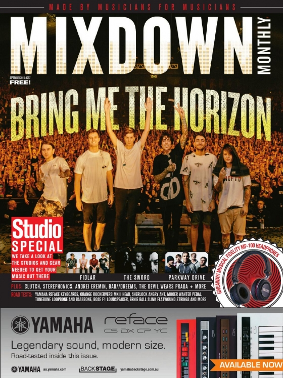 Mixdown Magazine September 2015
