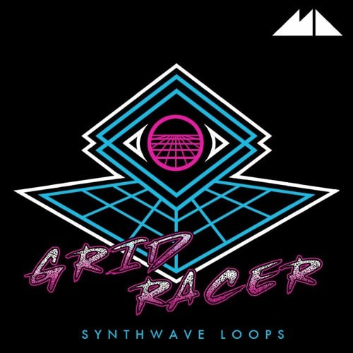 ModeAudio Grid Racer Synthwave Loops WAV MiDi