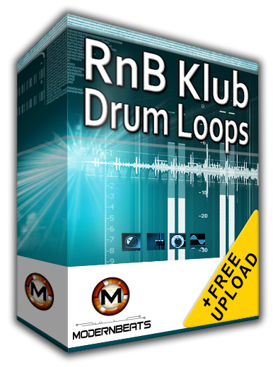 Modernbeats RnB Klub Drum Loops Vol. 1 WAV ACiD SCD-SPiRiT