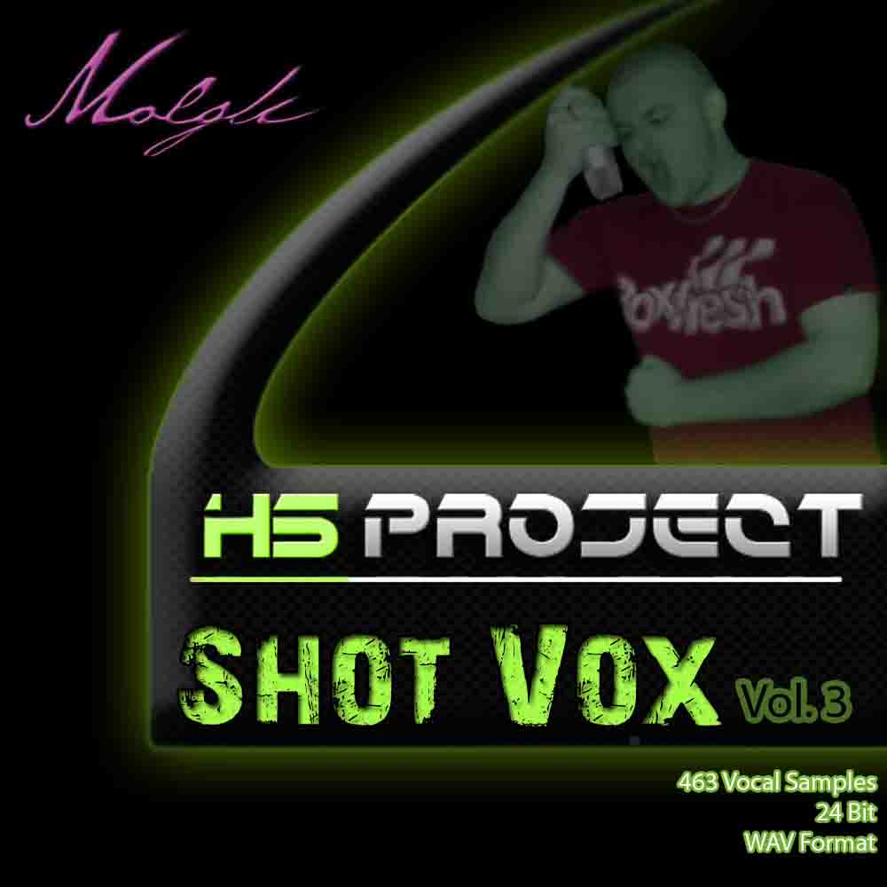 Molgli HS Project Shot Vox Vol.3 WAV