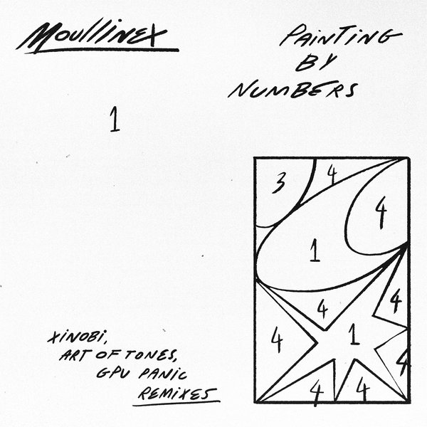 Moullinex - Painting By Numbers Remixes [DT085]