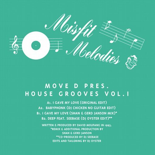 Move D – Presents House Grooves Vol. 1 [MFM03]