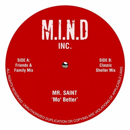 Mr Saint - Mo Better [MINC001]