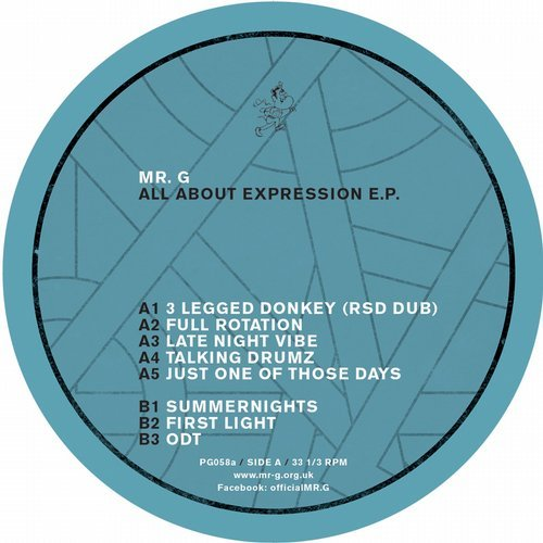 Mr. G - All About Expression [PG058]