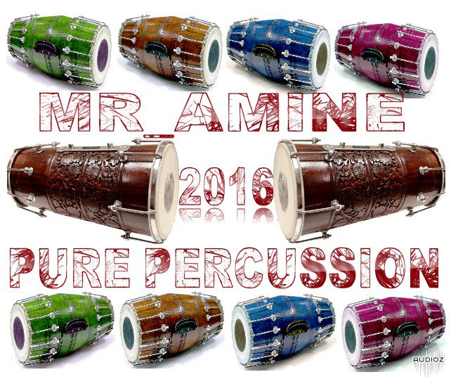 Mr_Amine - Pure Percussion 2016 (WAV-AIFF)