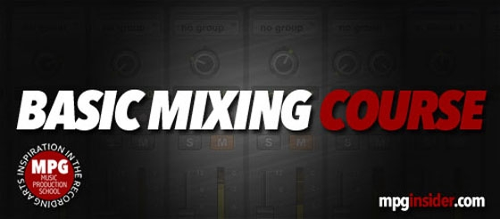 Music Production School Basic Mixing Course TUTORIAL