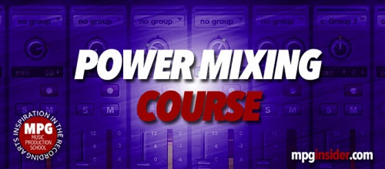 Music Production School Power Mixing Course TUTORiAL