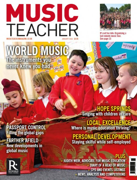 Music Teacher January 2016