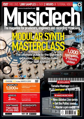 Music Tech March 2016