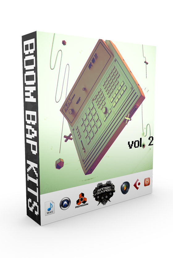 Music Weapons Boom Bap Drum Kits Vol 2 WAV