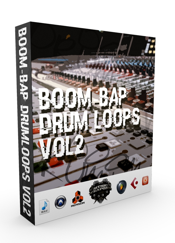 Music Weapons Boom Bap Drum Loops Vol.2 WAV