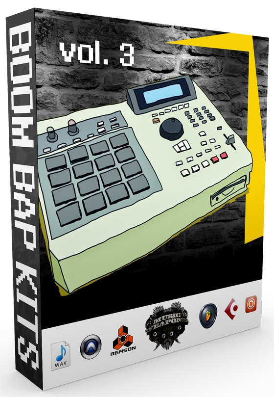 Music Weapons Boom Bap Kits Vol. 3 WAV