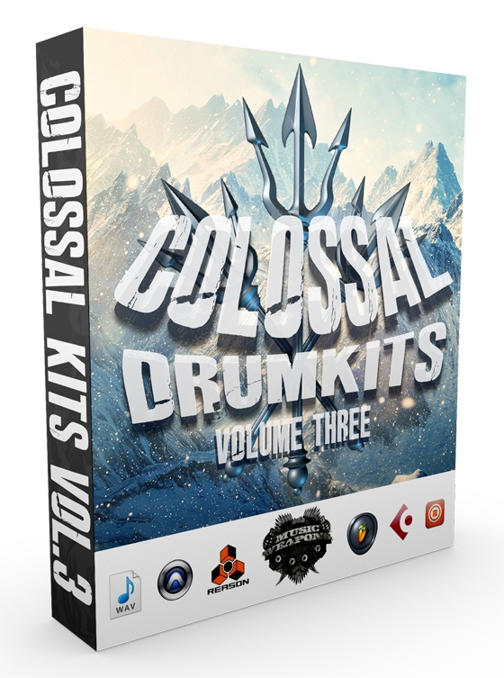 Music Weapons Colossal Kits Vol.3 WAV