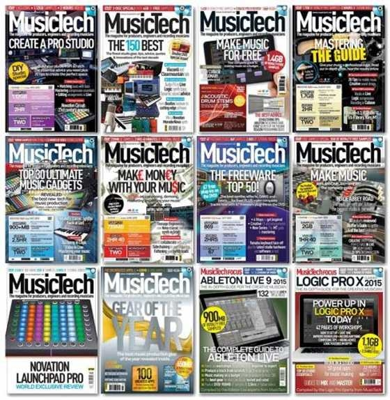 MusicTech Full Year 2015 Collection