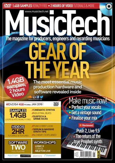 MusicTech January 2016