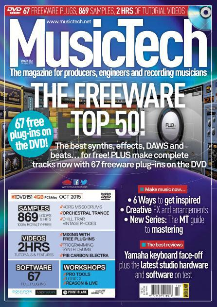 MusicTech October 2015