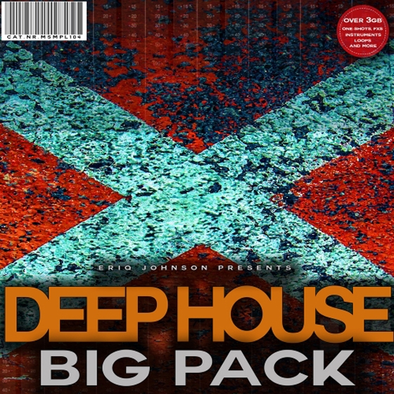 Musicheads Eriq Johnson Deep House Big Pack WAV