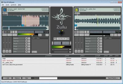 NCH Zulu DJ Software Masters Edition 3.60