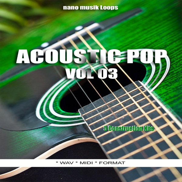 Nano Musik Loops Acoustic Pop Vol 3 WAV MiDi-DISCOVER