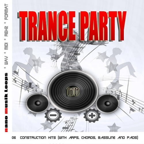 Nano Musik Loops Trance Party Vol 1 WAV REX MIDI-SYNTHiC4TE