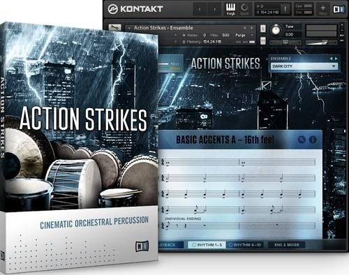 Native Instruments Action Strikes v1.2 KONTAKT UPDATE