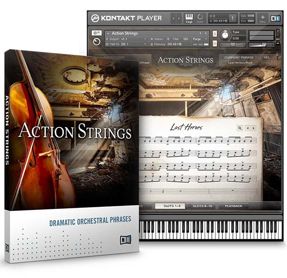 Native Instruments Action Strings v1.5 KONTAKT UPDATE
