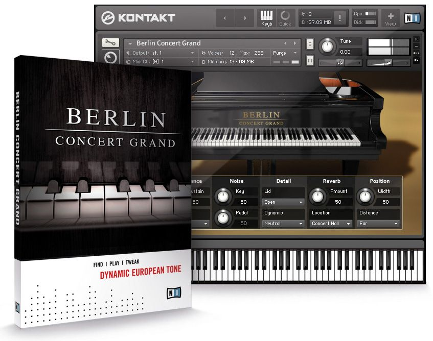 Native Instruments Berlin Concert Grand v1.4.0 KONTAKT