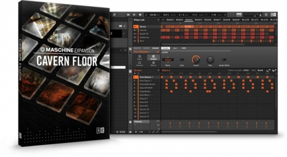 Native Instruments Cavern Floor Maschine Expansion OSX