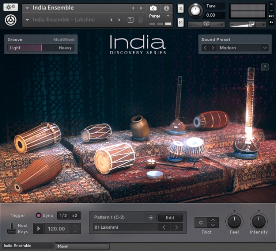 Native Instruments Discovery Series India KONTAKT
