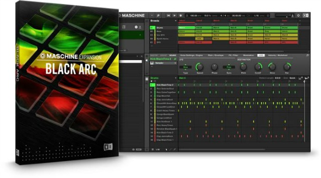 Native Instruments Maschine Black Arc Expansion OSX