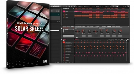 Native Instruments Maschine Expansion Solar Breeze v1.0.0 REPACK-R2R